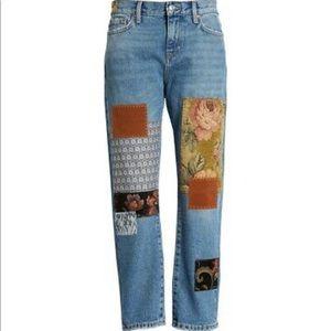 ✨HOST PICK✨ FP Poppy Patch Straight Leg Jeans